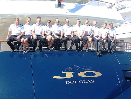 Motor Yacht Jo - Crew